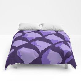 Purple Gumdrops Comforters