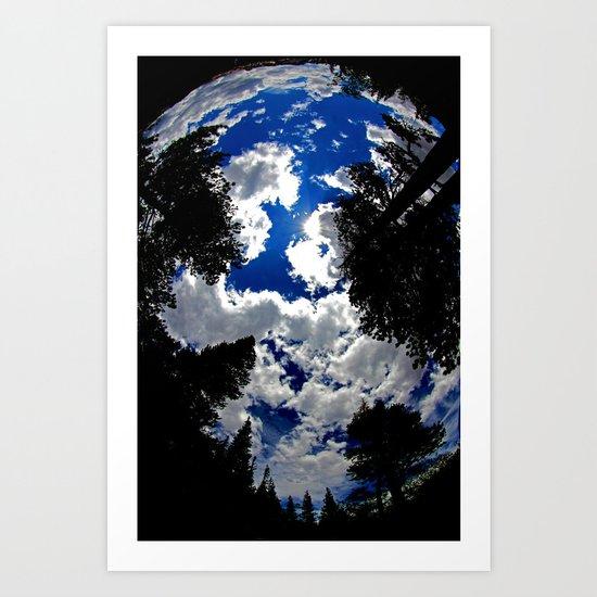 Up Above Art Print