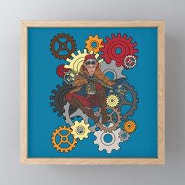 Last Shot Steampunk Elf Framed Mini Art Print