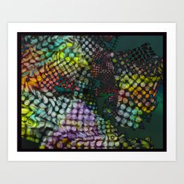 Wild About You! Art Print