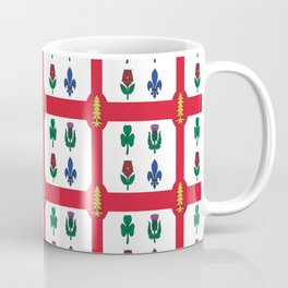 Flag of montreal -montrealais,montrealer,montreales,quebec, canada. Coffee Mug