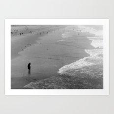 Reflective Seas Art Print