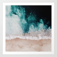Ocean (Drone Photography) Art Print