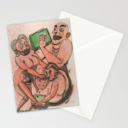 Black Friday Melee Stationery Cards