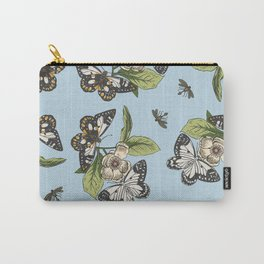 Butterflies and Camillias Carry-All Pouch