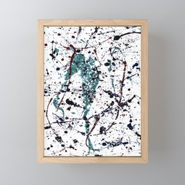 Mint Chocolate Chip Framed Mini Art Print