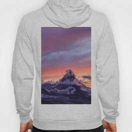 Himalayas Fishtail Mountain Sunset Hoody