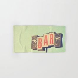 Bar. Los Angeles photograph Hand & Bath Towel