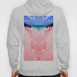 Elafonissi Chania Pink and Turquoise Sea Hoody