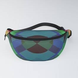Retro Rocket 2 Fanny Pack