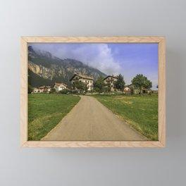 The beautiful Dolomites Framed Mini Art Print