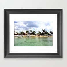 Take Me To Paradise Framed Art Print