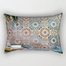 Tea set Rectangular Pillow
