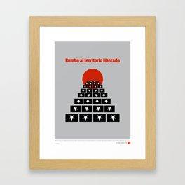 CUBA: Rumbo al Territorio Liberado (Toward a Liberated Territory) Framed Art Print