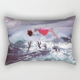 I Can't Drown My Demons They Know How To Swim Rectangular Pillow