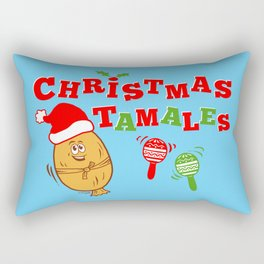 Christmas Tamales Rectangular Pillow