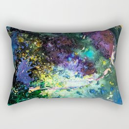 Malachite Cosmos Rectangular Pillow