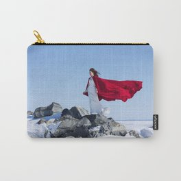 winter girl Carry-All Pouch