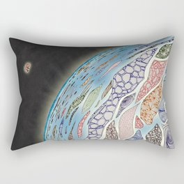 Silence and tranquility Rectangular Pillow
