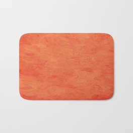 Impressions in Hues of Orange Home Decor Badematte