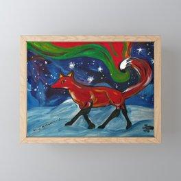 Birth of Lights Framed Mini Art Print