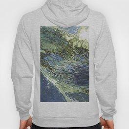 Ebb and Flow Ocean Waves Hoody