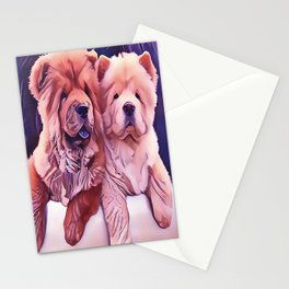 Chow Pals Stationery Cards