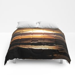 Copper Seascape Delight Comforters