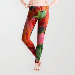 Day Lilies Leggings