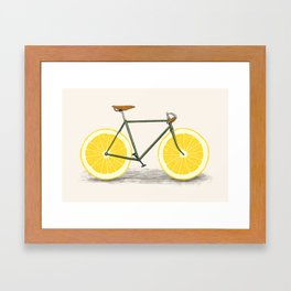 Zest Framed Art Print