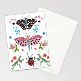 Beautiful bugs and insects  Stationery Cards