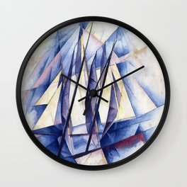 Sail Movements Wall Clock