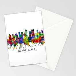 Guadalajara Mexico Skyline Stationery Cards