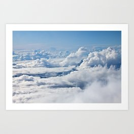 Arctic Clouds Art Print