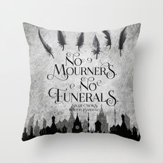NM-NF Throw Pillow