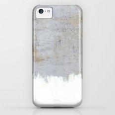 Painting on Raw Concrete iPhone 5c Slim Case
