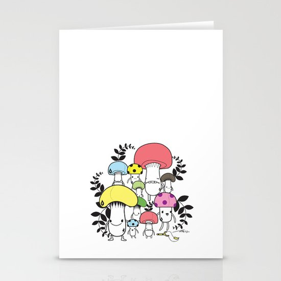 WELCOME TO MUSHROOM LAND - EP.547 VE Stationery Cards