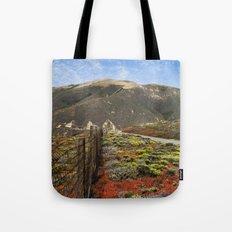 Big Sur Mountains Tote Bag
