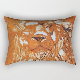 Are you strong like a lion? Rectangular Pillow