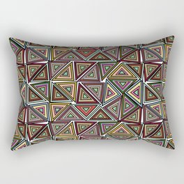 TRIANGULAR Rectangular Pillow