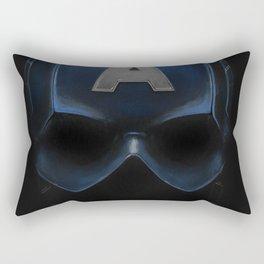 Capt America - Cowl Portrait Rectangular Pillow