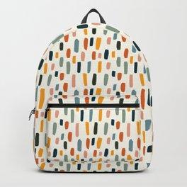 Rainbow Confetti Pattern Backpack
