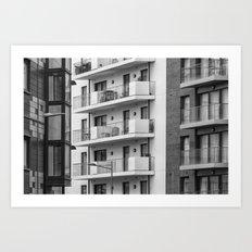 Balconies Art Print