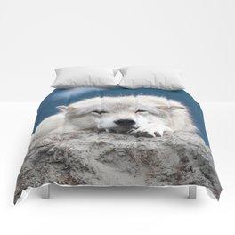 Sleepy Wolf Comforters