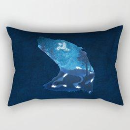 Moon Badgers Rectangular Pillow