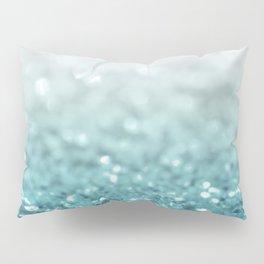 MERMAID GLITTER - MERMAIDIANS AQUA Pillow Sham
