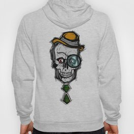 Fancy skull face man  Hoody