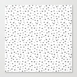 Abstract pattern: dots Canvas Print