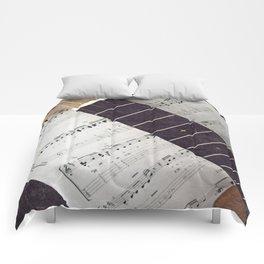happy strings {ukulele Comforters