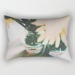 Flowers of Fall Rectangular Pillow